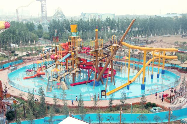 郑州方特水上乐园2015年5月23日华丽开启